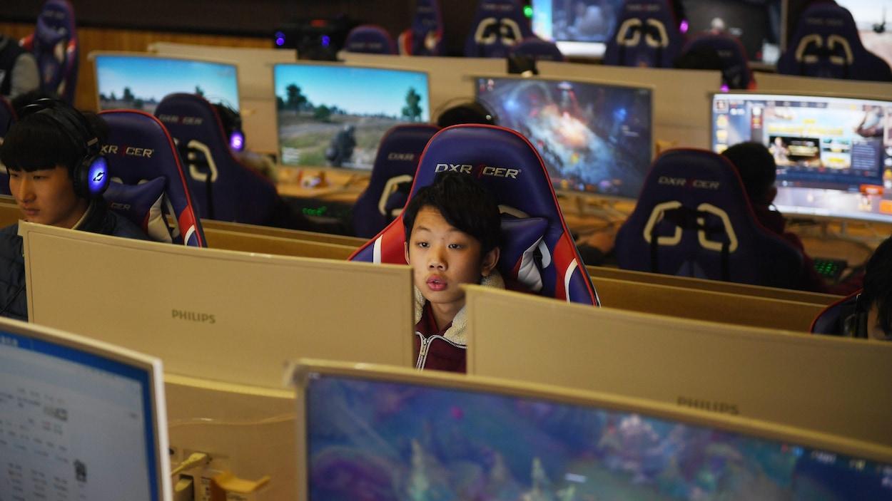 La Chine Impose Des Mesures Strictes Pour Contrer La serapportantà Jeux Ordinateur Enfant