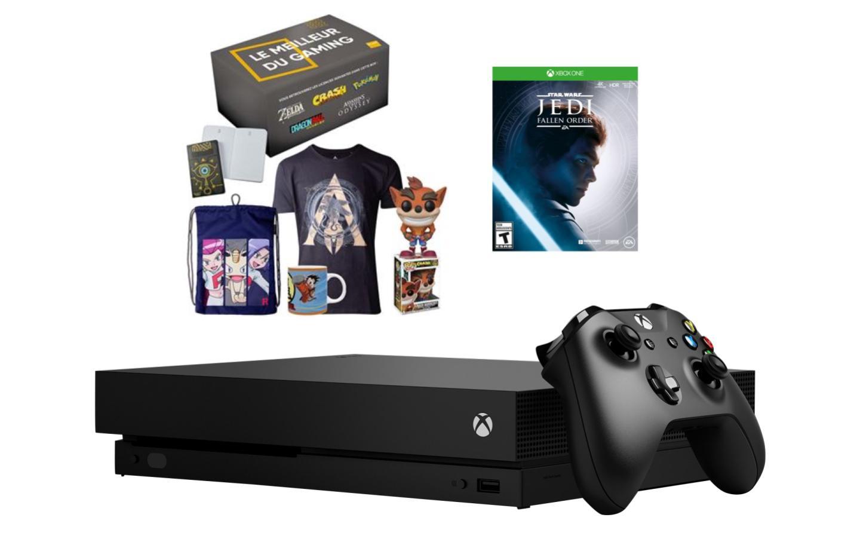 La Console Xbox One X Est Aujourd'hui À Moitié Prix concernant Jeu De Puissance 4 Gratuit En Ligne