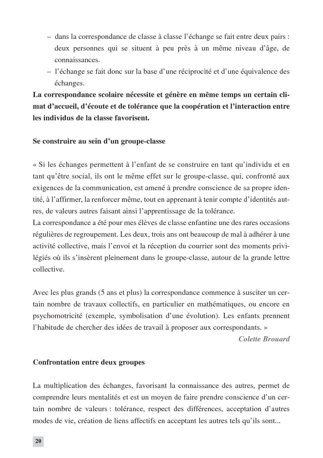 La Correspondance Scolaire -Extraits - Calameo Downloader tout Chercher Les Differences
