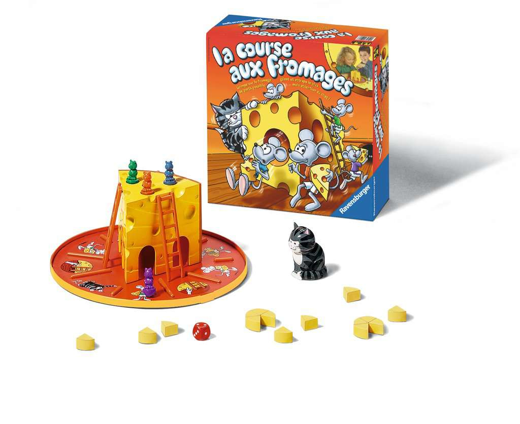 La Course Aux Fromages | Jeux Pour Enfants | Jeux | Produits dedans Jeux De Course Pour Enfants