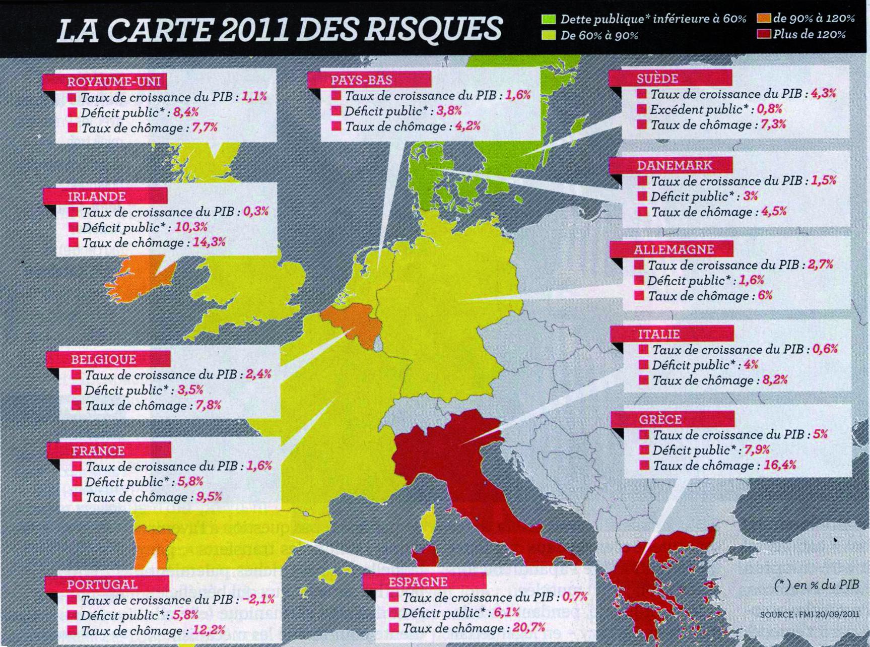 La «Crise» Dans L'union Européenne Vue Par Les Cartes pour Carte Des Pays De L Union Européenne