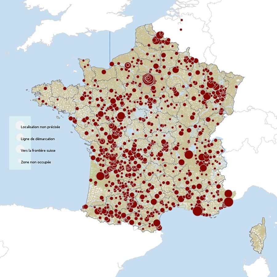 La Déportation Des Enfants Juifs Du 3E Arrondissement De tout Carte De France Pour Les Enfants
