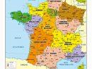 La France Des 13 Régions serapportantà Carte France Avec Region