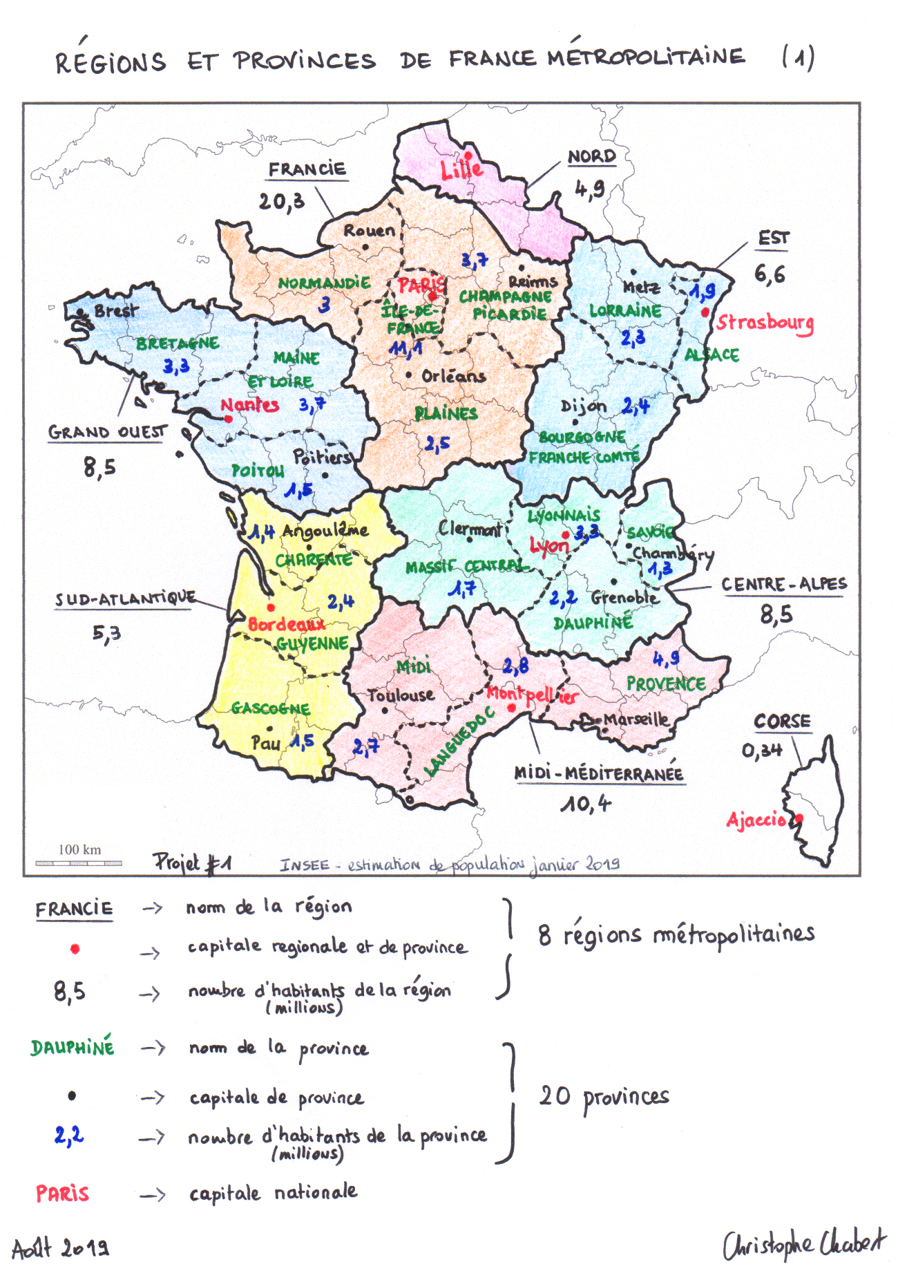 La France Des Regions Ebook | Pdf Sinhala Books Free Download pour Decoupage Region France