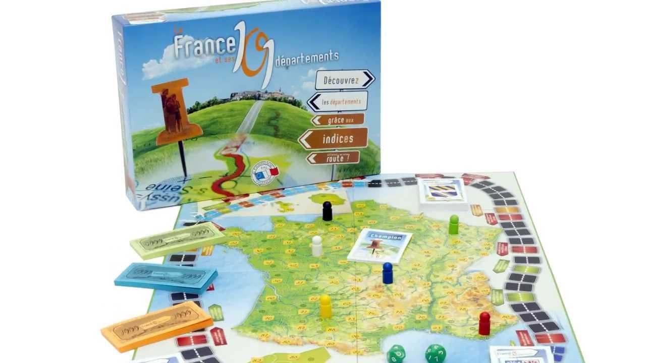 La France Et Ses 101 Départements - Ferriot-Cric - Pour Apprendre En  S'amusant ! avec Apprendre Les Départements En S Amusant