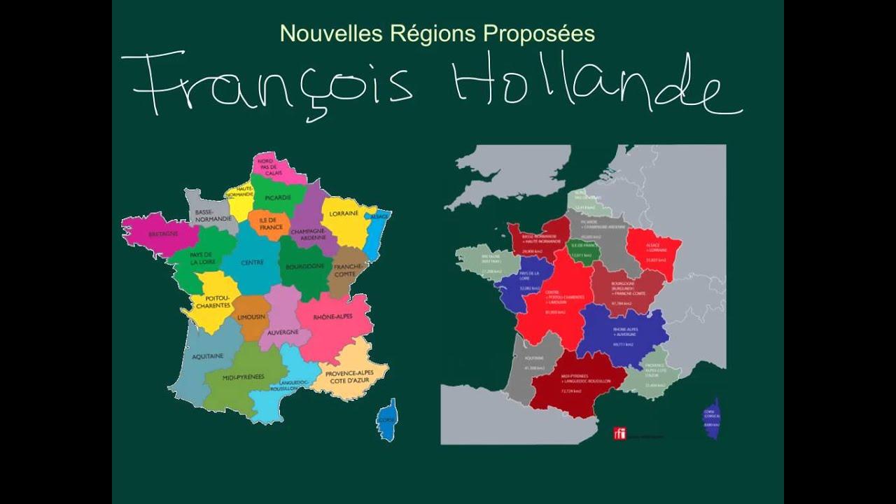 La France - Régions Et Départements concernant Départements Et Régions De France