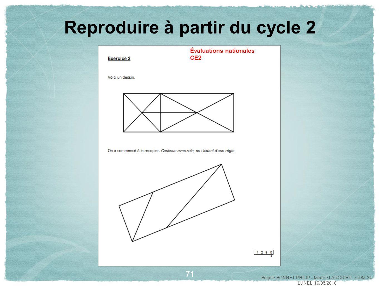La Géométrie Au Cycle 2 Et Au Cycle 3 - Ppt Video Online encequiconcerne Reproduire Une Figure