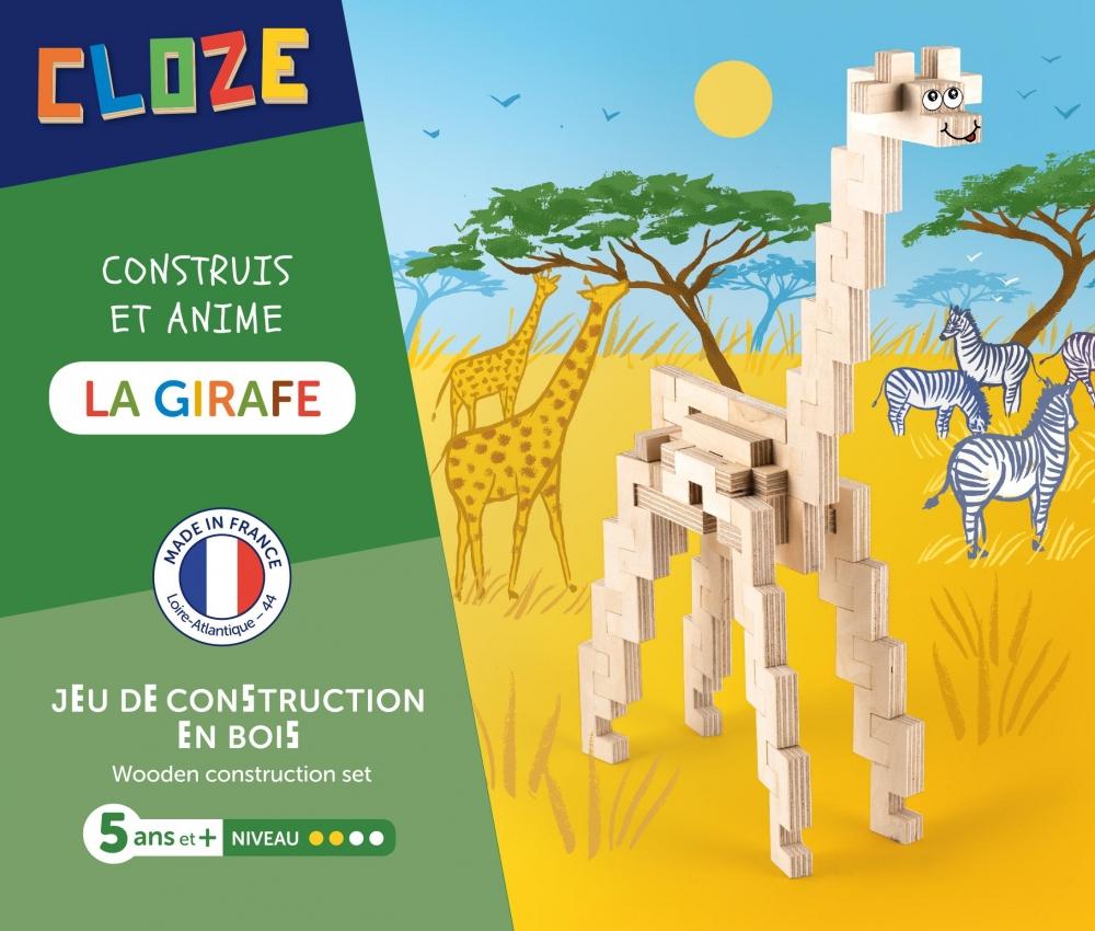 La Girafe, - Gamme Les Aventures | Cloze - Fabricant De Jeux tout Jeux De Girafe Gratuit