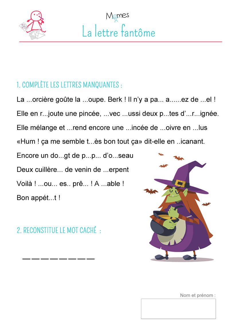 La Lettre Fantôme   Lettre A, Jeux A Imprimer Et Jeux De tout Jeux De Lettres À Imprimer