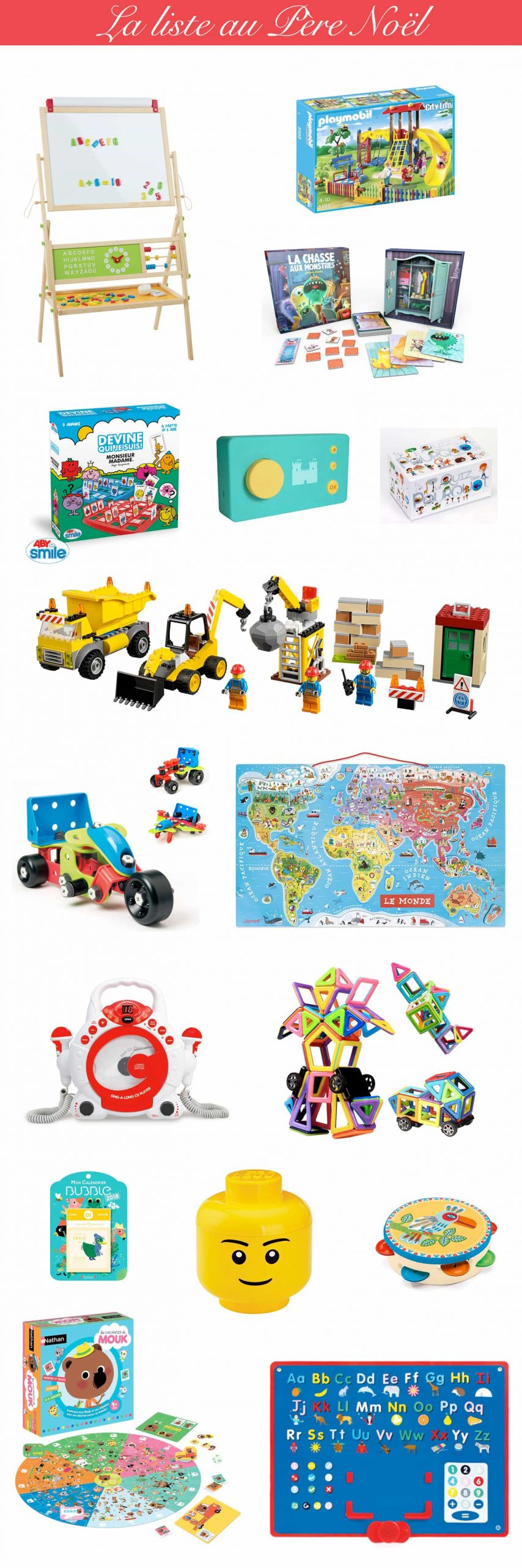 La Liste Au Père Noël : Idées Cadeau Garçon & Fille 4 Ans pour Jeux Gratuit Garçon 4 Ans