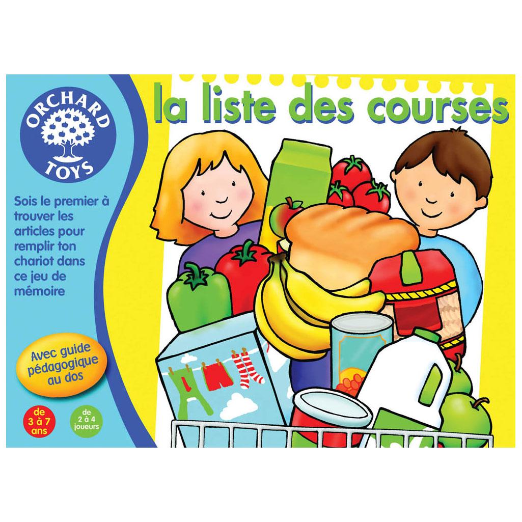 La Liste Des Courses à Jeux De Memoire Enfant