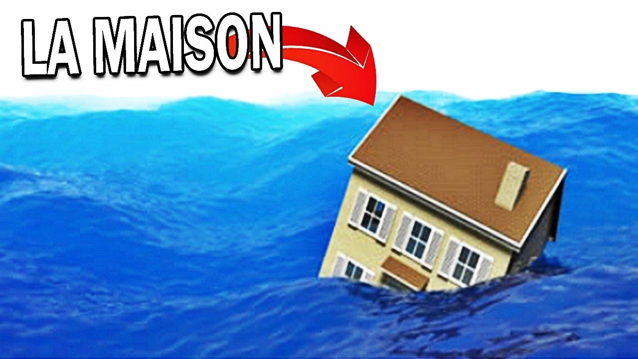 La Maison Survivra Au Tsunami ?! | Roblox ! concernant Jeux De Catastrophe Naturel Gratuit