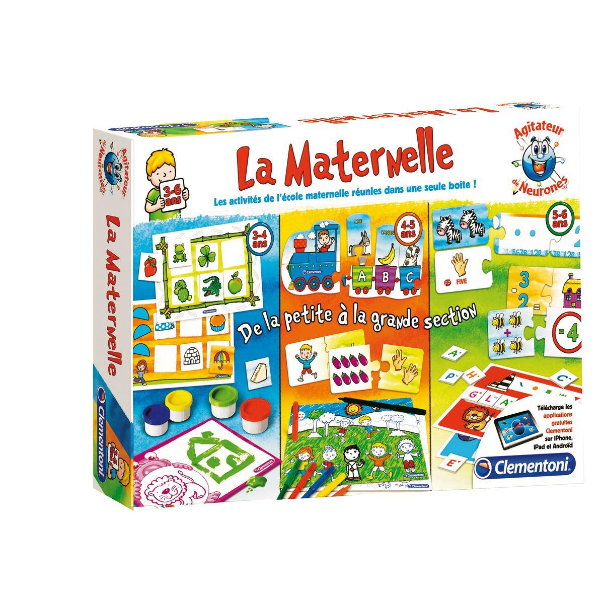 La Maternelle - 1Ers Apprentissages - La Grande Récré tout Jeux Educatif Gratuit Maternelle
