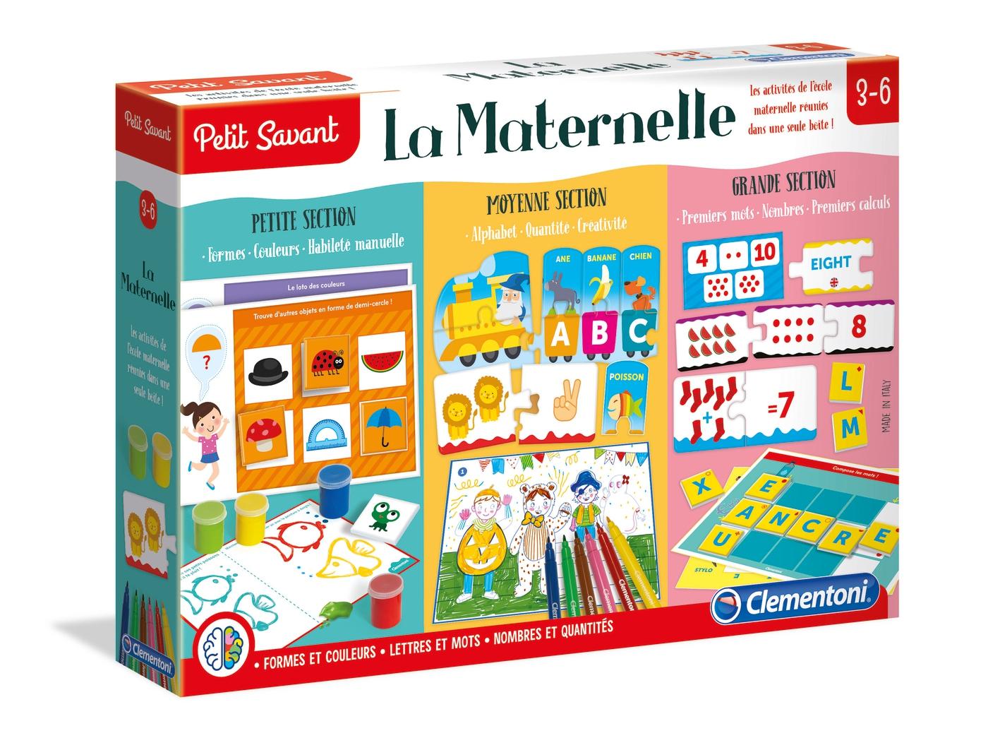 La Maternelle - Clementoni concernant Petit Jeu Maternelle
