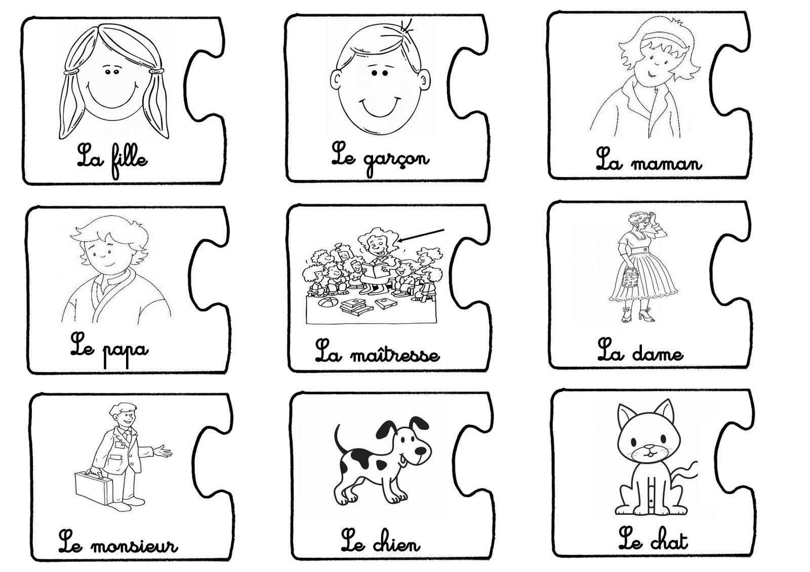 La Maternelle De Laurène: Jeu Pour Apprendre À Construire destiné Jeux Enfant Maternelle