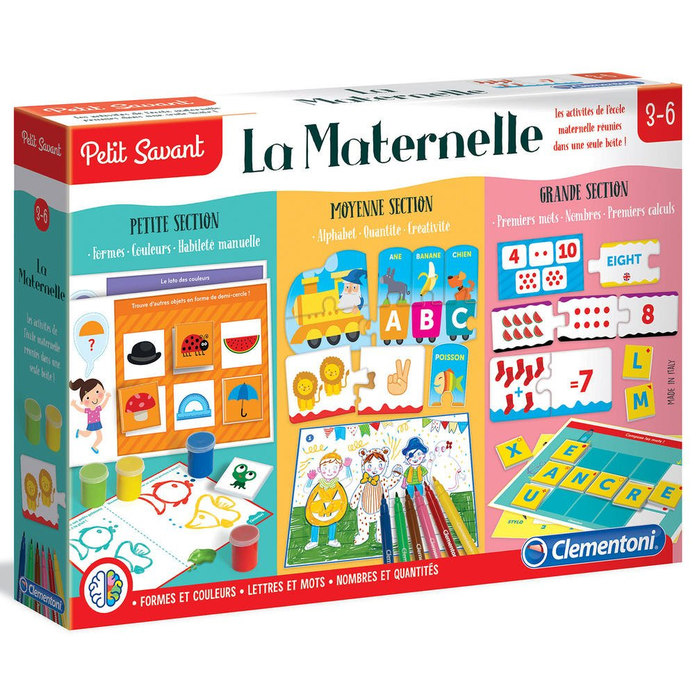 La Maternelle interior Jeux Educatif 4 Ans