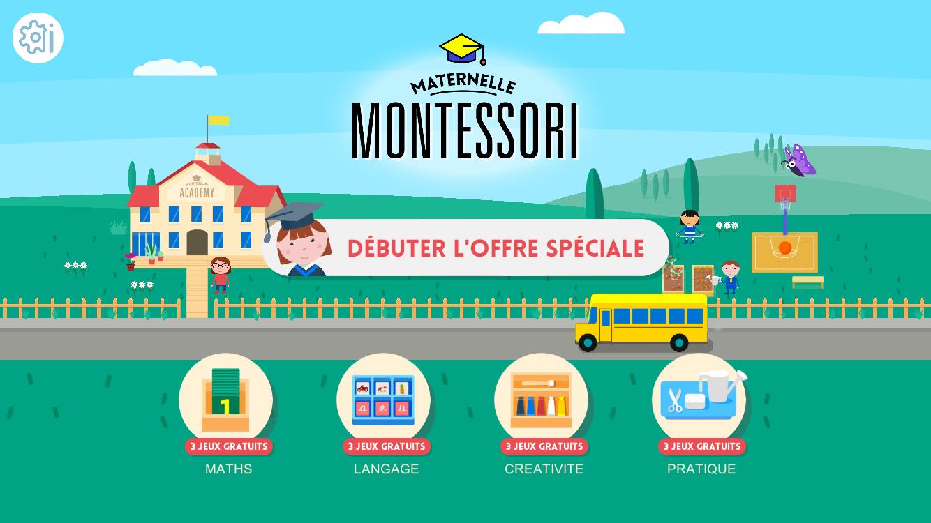 La Maternelle Montessori - Bon À Savoir destiné Jeux Gratuit Maternelle