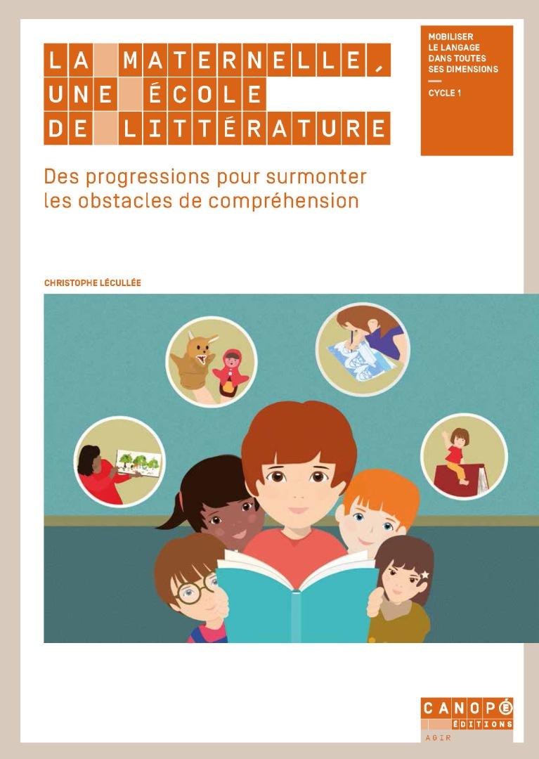La Maternelle, Une École De Littérature - Réseau Canopé dedans Jeux En Ligne Maternelle Petite Section