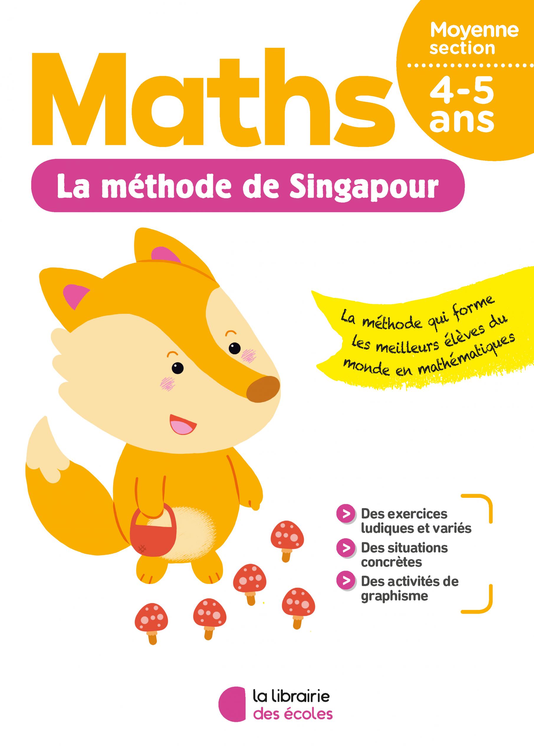 La Méthode De Singapour - Moyenne Section - Pour La Maison concernant Exercice Maternelle Moyenne Section
