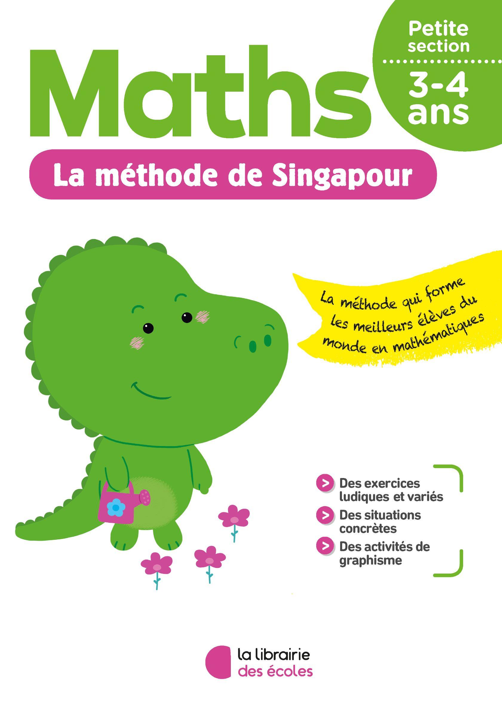 La Méthode De Singapour - Petite Section - Pour La Maison serapportantà Exercice Maternelle Petite Section