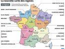 La Nouvelle Carte Des 13 Régions | Mapa De Francia, Aprender avec Carte Nouvelle Region
