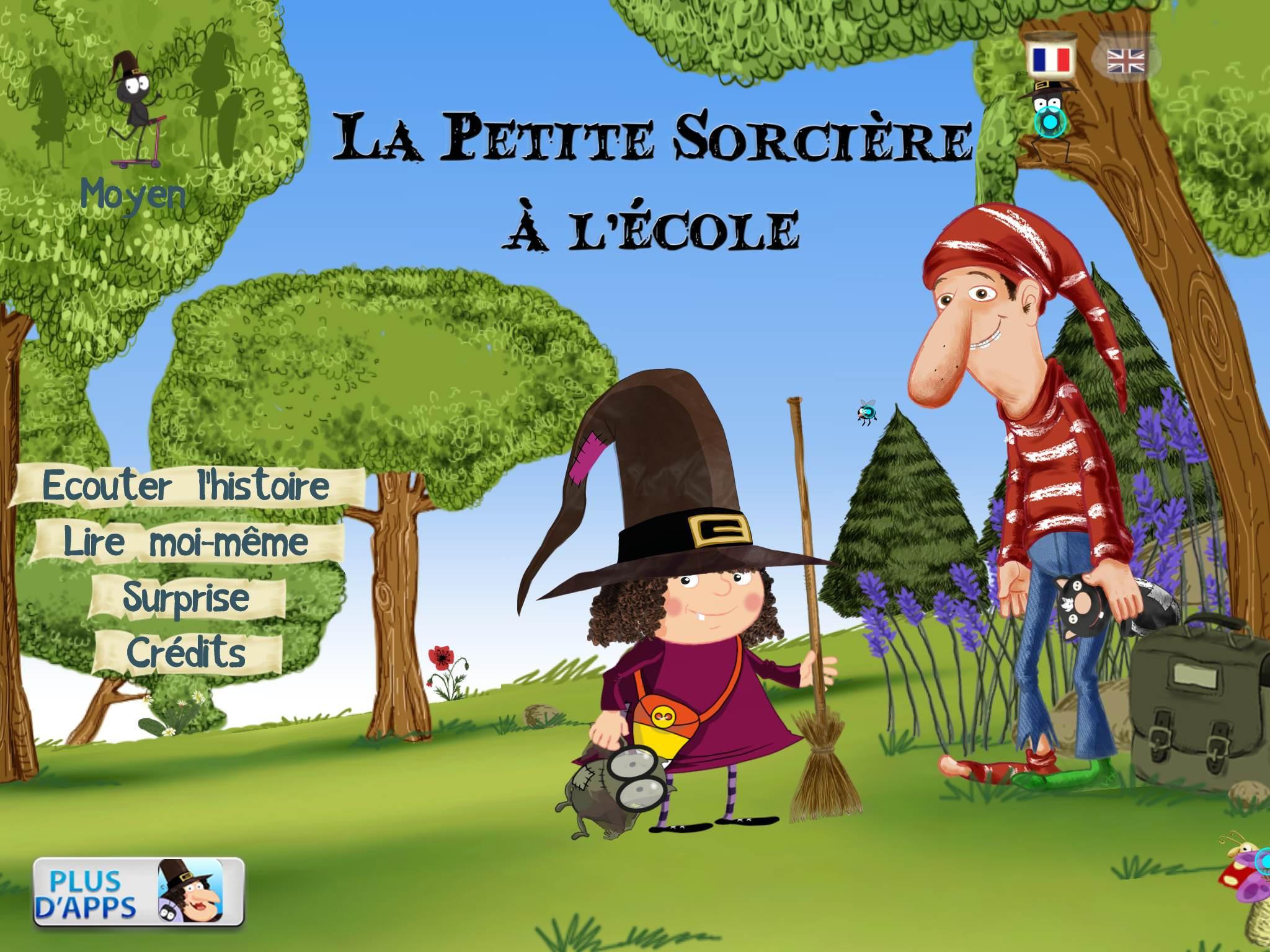 La Petite Sorcière À L'école Slimcricket Application Enfant intérieur Jeux De La Petite Souris