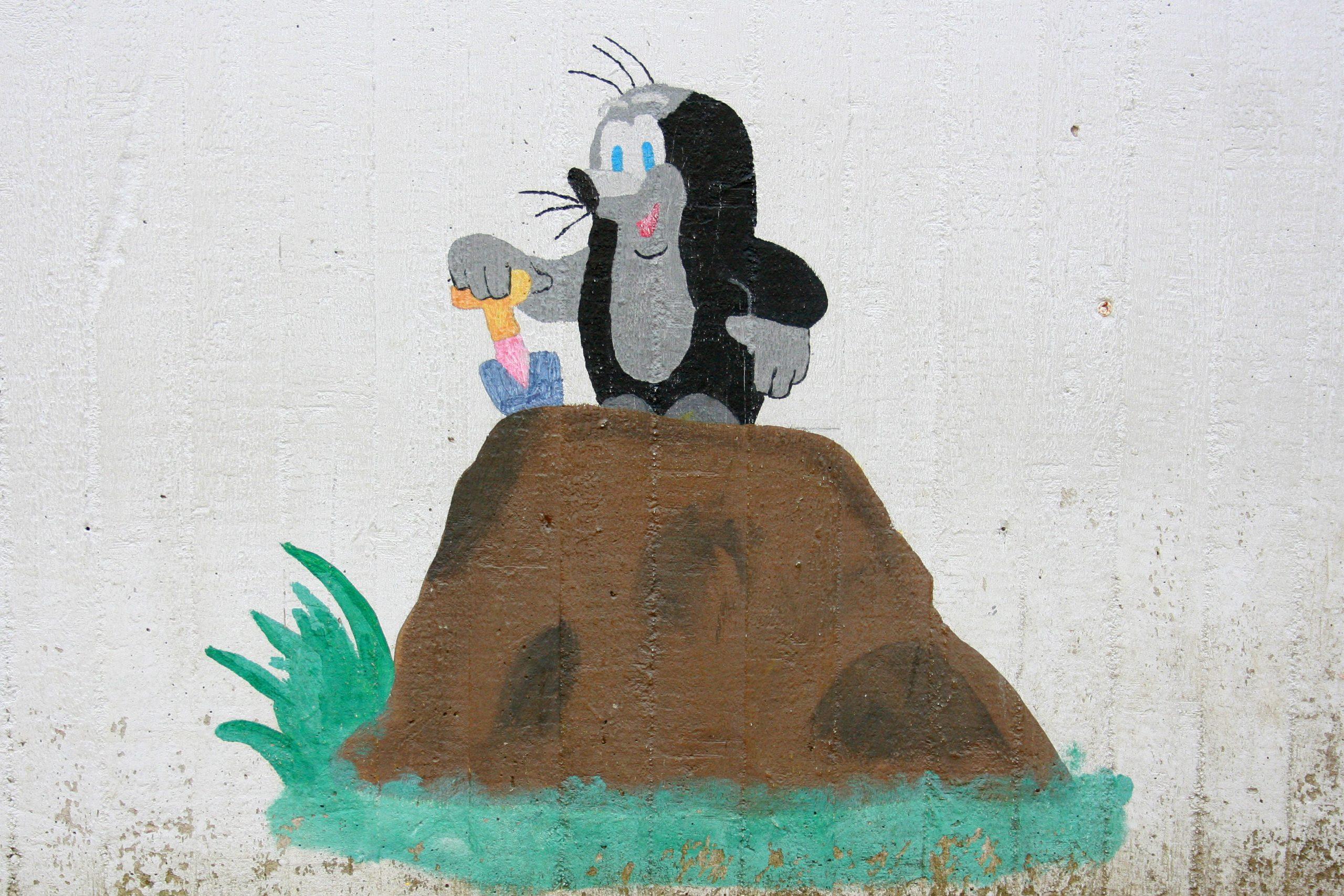 La Petite Taupe — Wikipédia à Dessin De Taupe