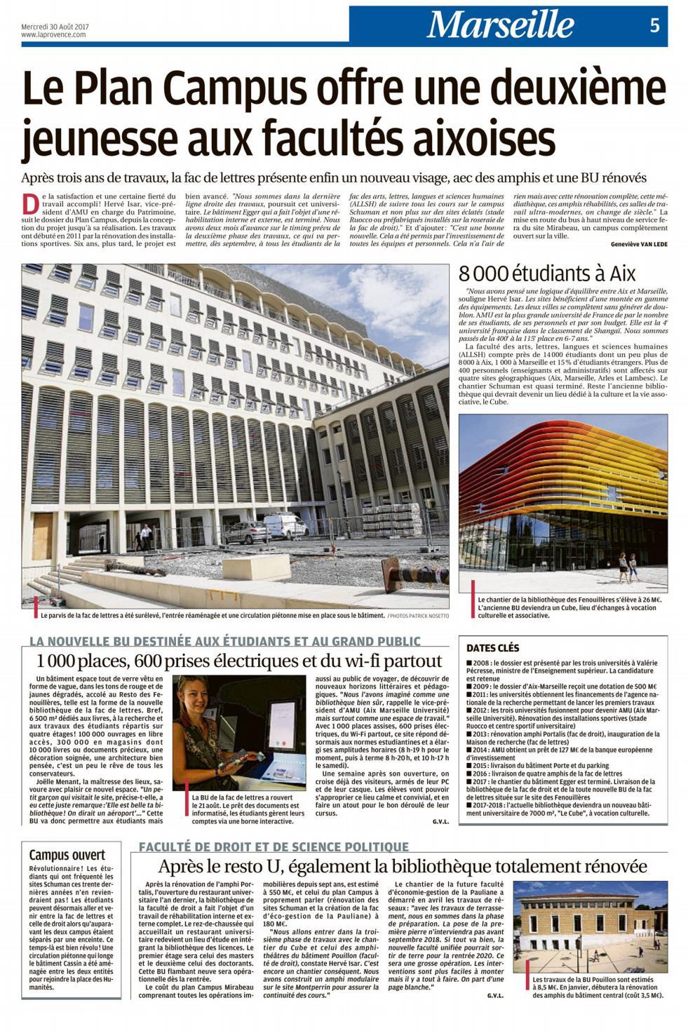La Provence Le Plan Campus By Tangram Architectes - Issuu dedans Tangram En Ligne