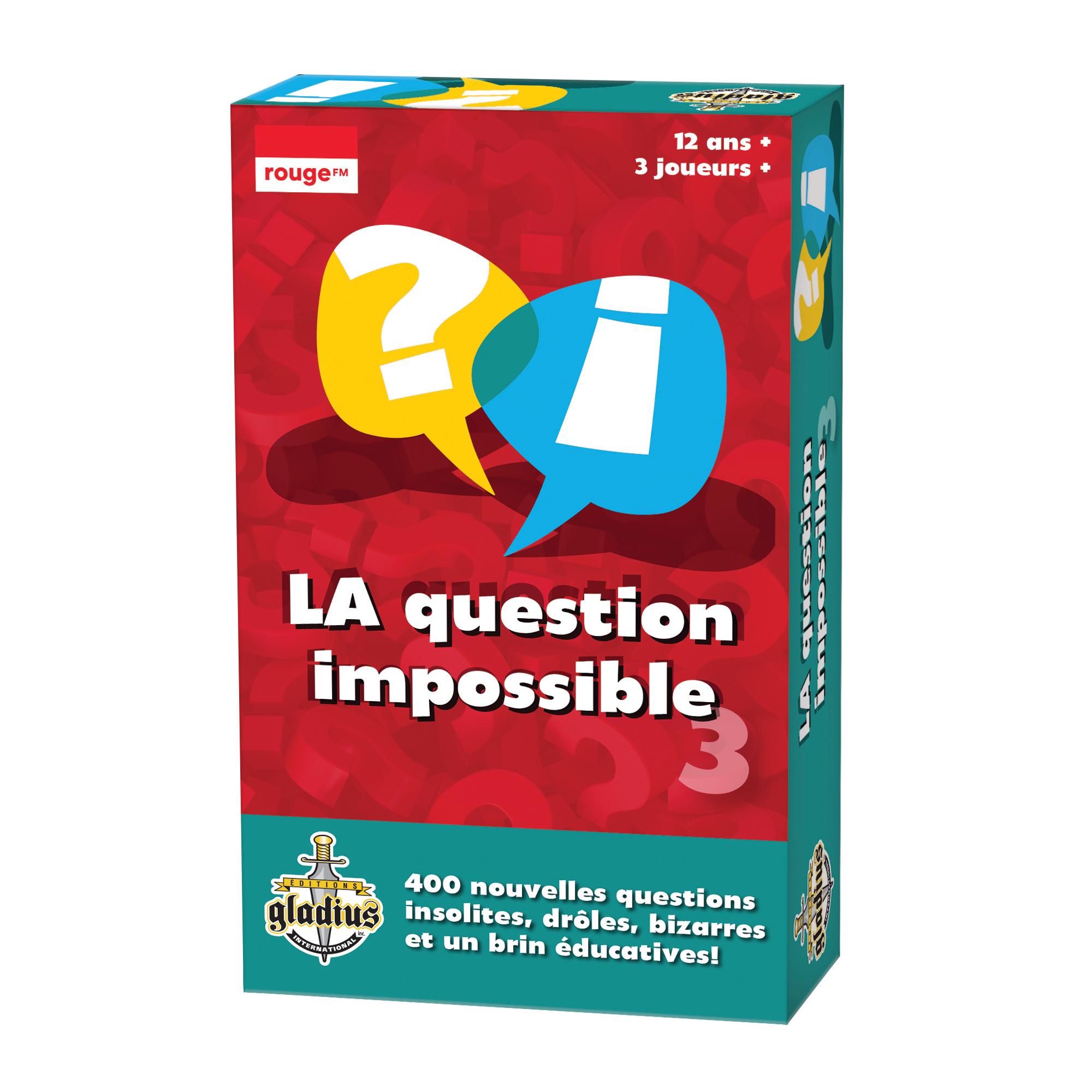 La Question Impossible Vol. 3 dedans Jeux Avec Des Questions
