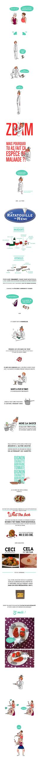La Rauille Du Dessin Animé — La Recette ! avec Dessin Ratatouille