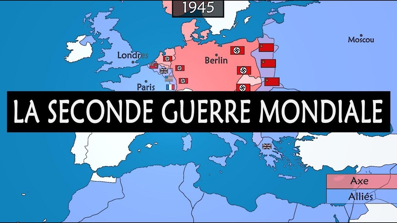 La Seconde Guerre Mondiale - Résumé Du Conflit Le Plus Meurtrier De  L'histoire destiné Tout Les Pays D Europe