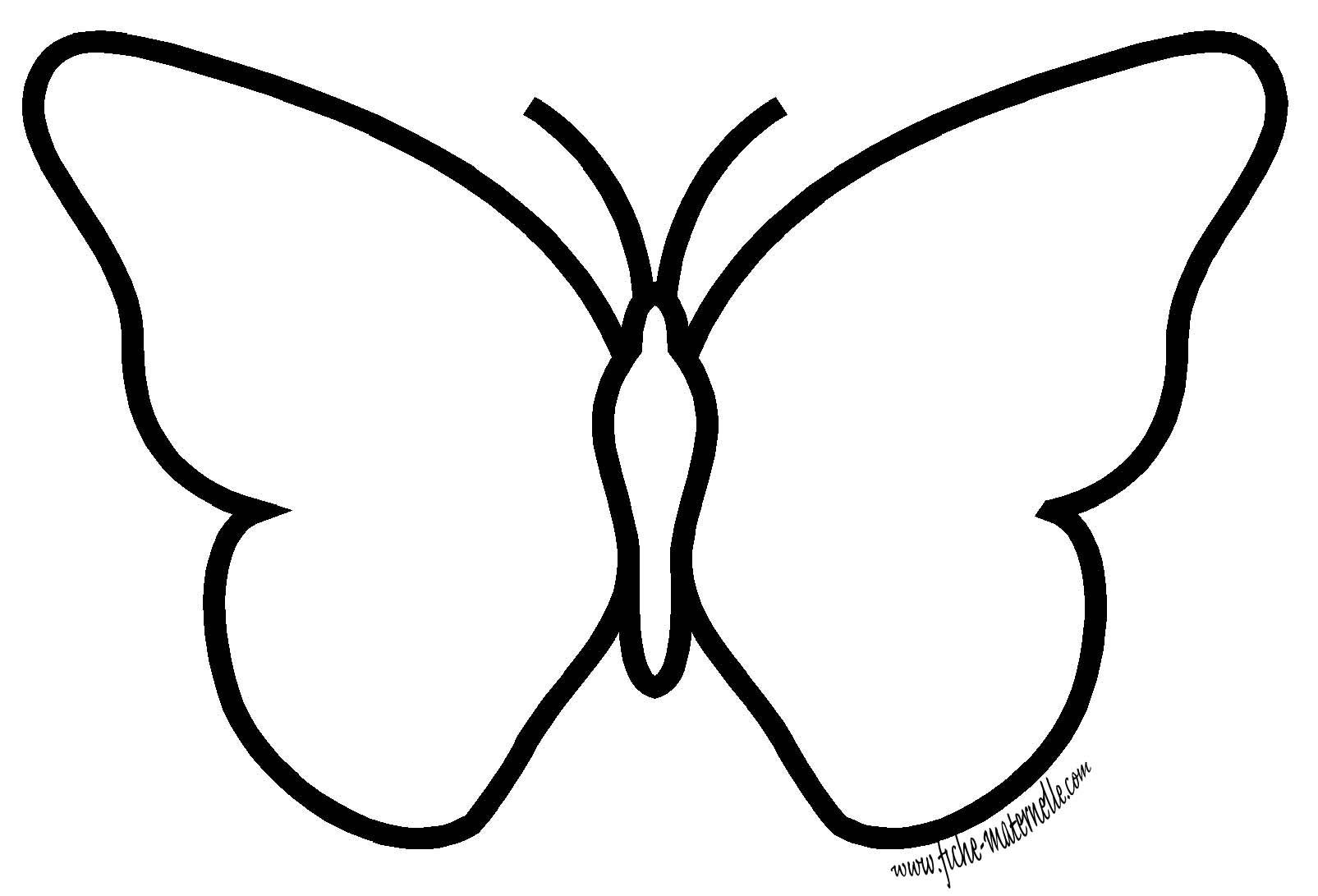La Symétrie En Maternelle : Le Papillon destiné Symétrie A Imprimer