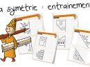 La Symétrie : Entrainement | Bout De Gomme concernant Symétrie A Imprimer