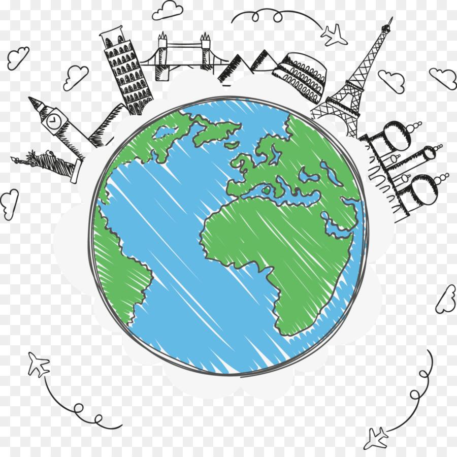 La Terre, Dessin, Voyage Png - La Terre, Dessin, Voyage tout Image De La Terre Dessin