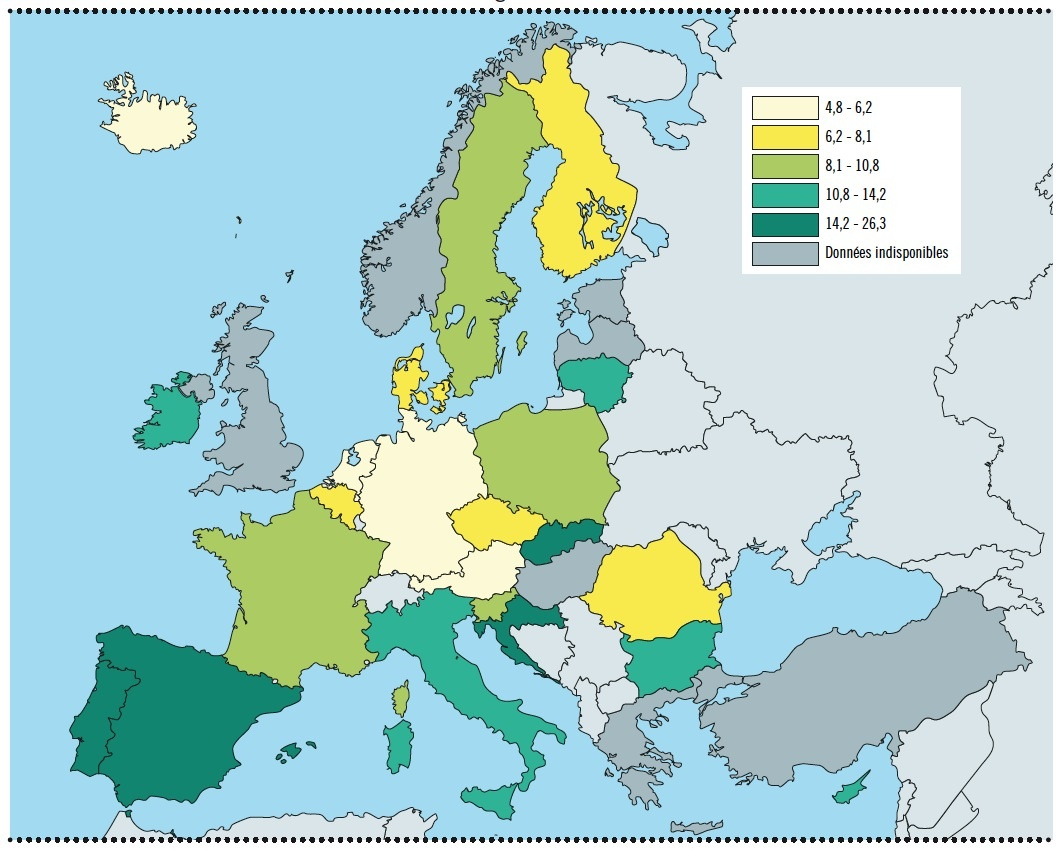 La Transformation De L'europe Ne Peut Qu'être L'œuvre Des serapportantà Carte Europe Sans Nom Des Pays