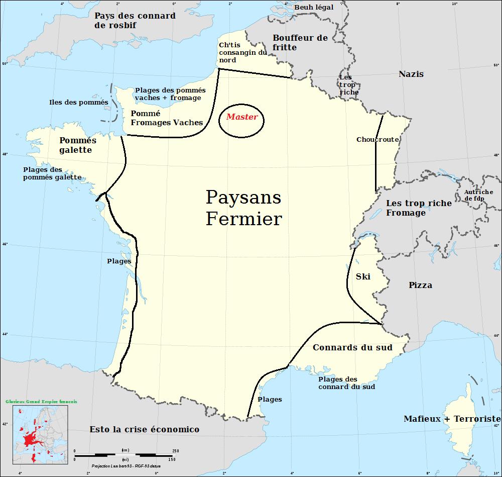 La Vrai Carte Des Régions De France 2016 Sur Le Forum Blabla à Carte Des Régions De France 2016
