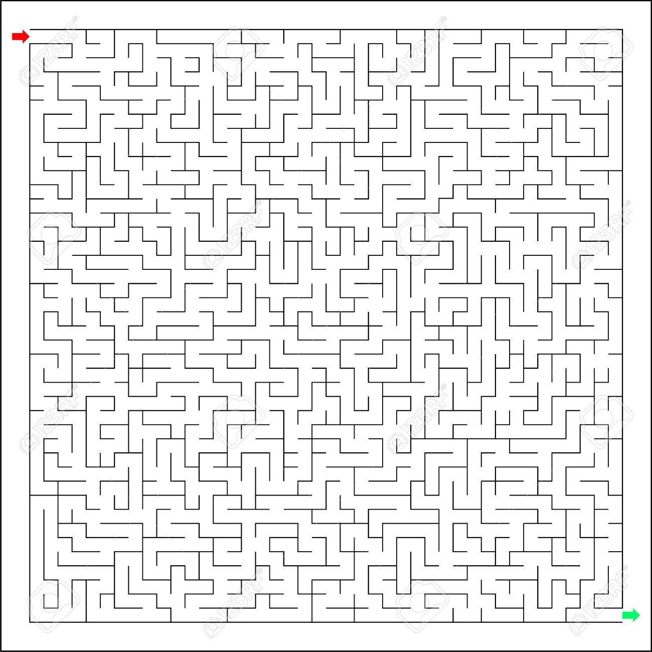 Labirynth Difficile Et Dur, Labyrinthe, Casse-Tête, L'énigme tout Labyrinthe Difficile