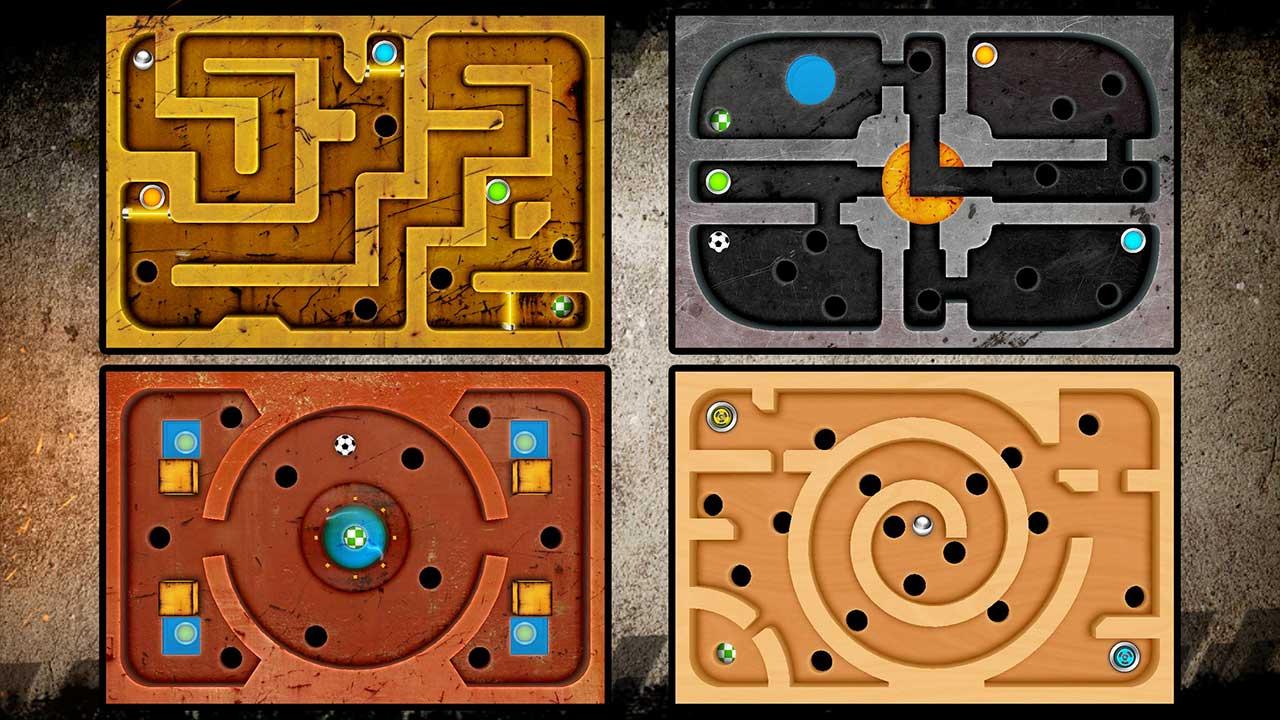 Labyrinth Game : 65 Niveaux Gratuits Sur Android, Profitez-En ! pour Jeux De Billes Gratuits