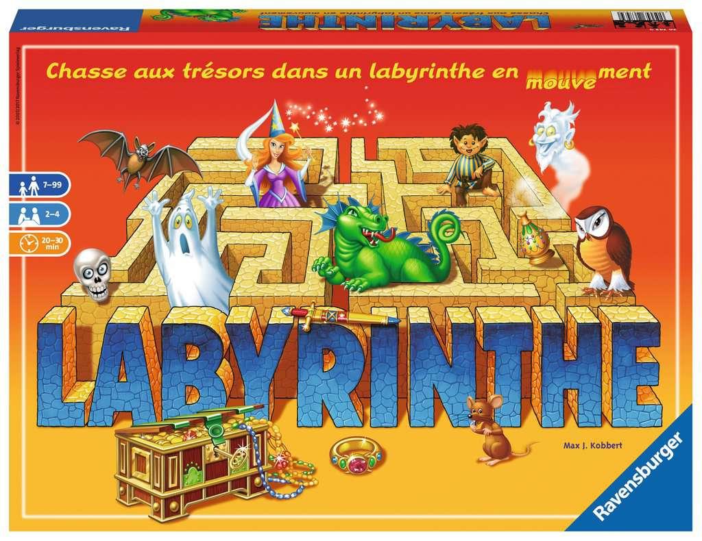 Labyrinthe avec Jeux Societe Interactif