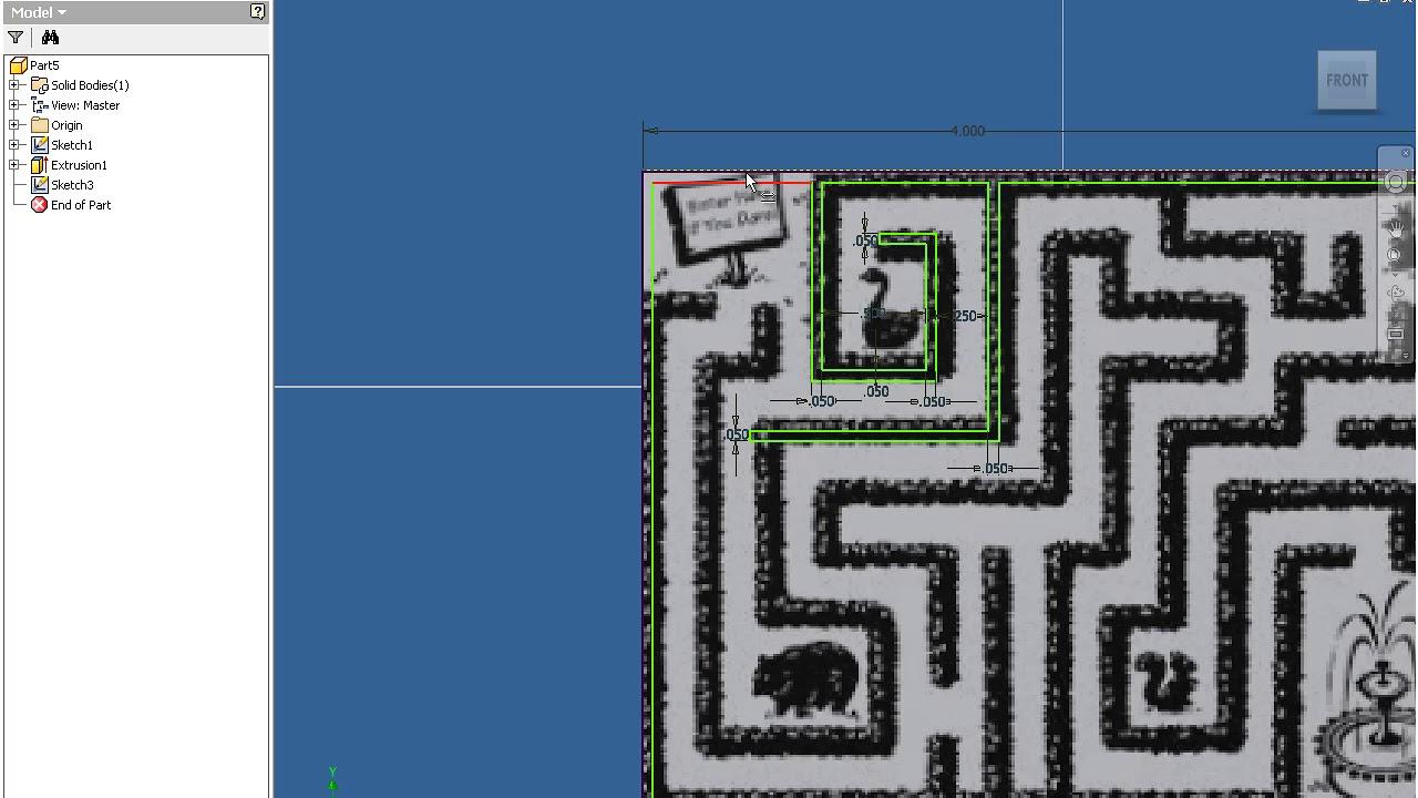 Labyrinthe Maze Inventor 3Dprint tout Labyrinthe A Imprimer