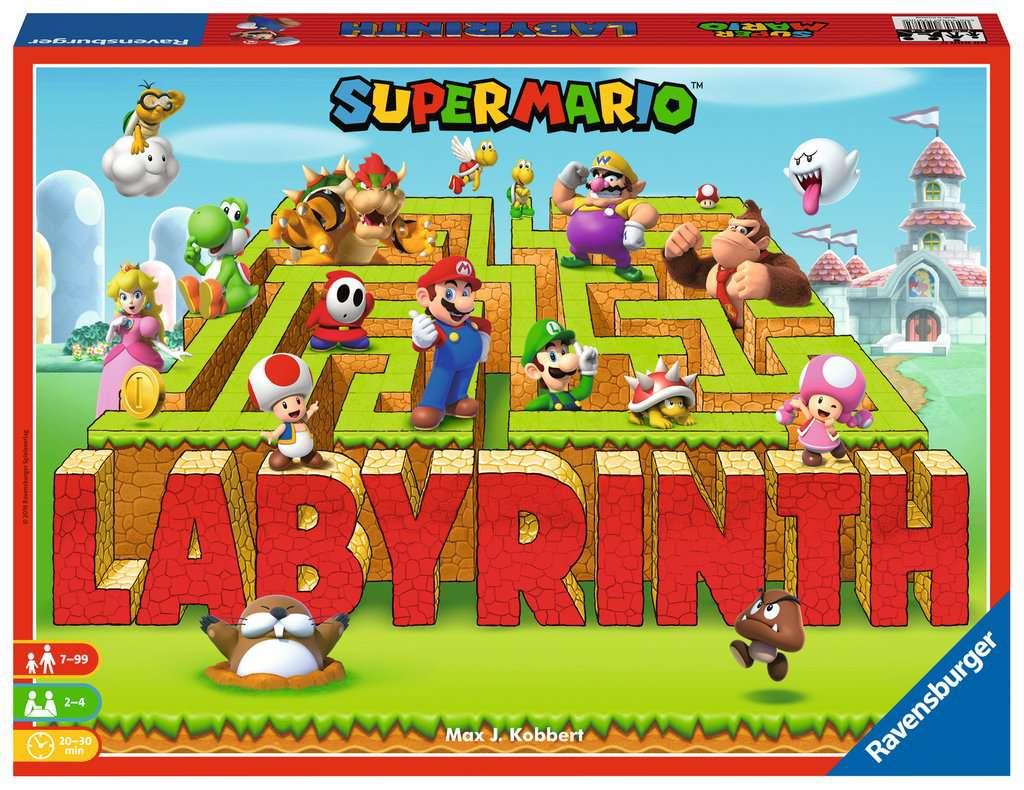 Labyrinthe Super Mario™ dedans Jeux De Labyrinthe Gratuit