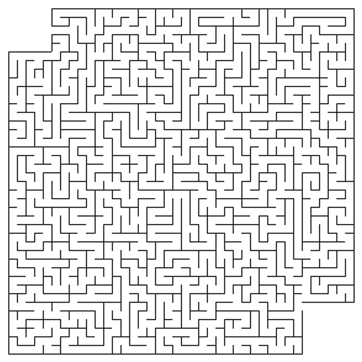 Labyrinthes #202 (Éducatifs) – Coloriages À Imprimer pour Labyrinthes À Imprimer