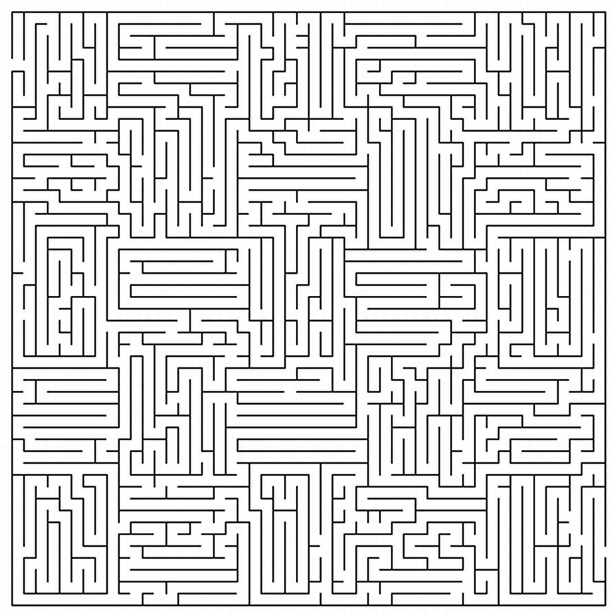 Labyrinthes #5 (Éducatifs) – Coloriages À Imprimer serapportantà Labyrinthes À Imprimer