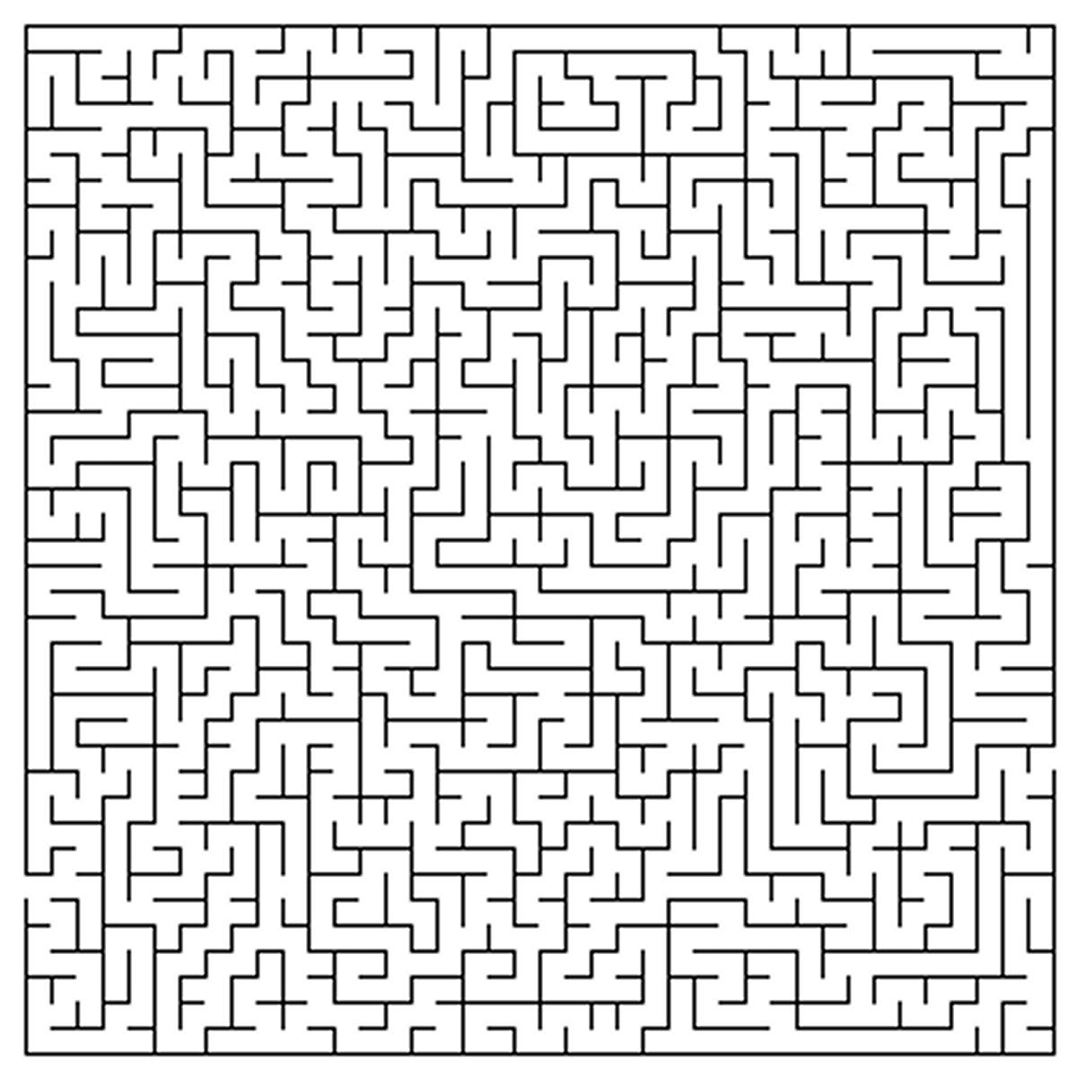 Labyrinthes #97 (Éducatifs) – Coloriages À Imprimer serapportantà Labyrinthes À Imprimer