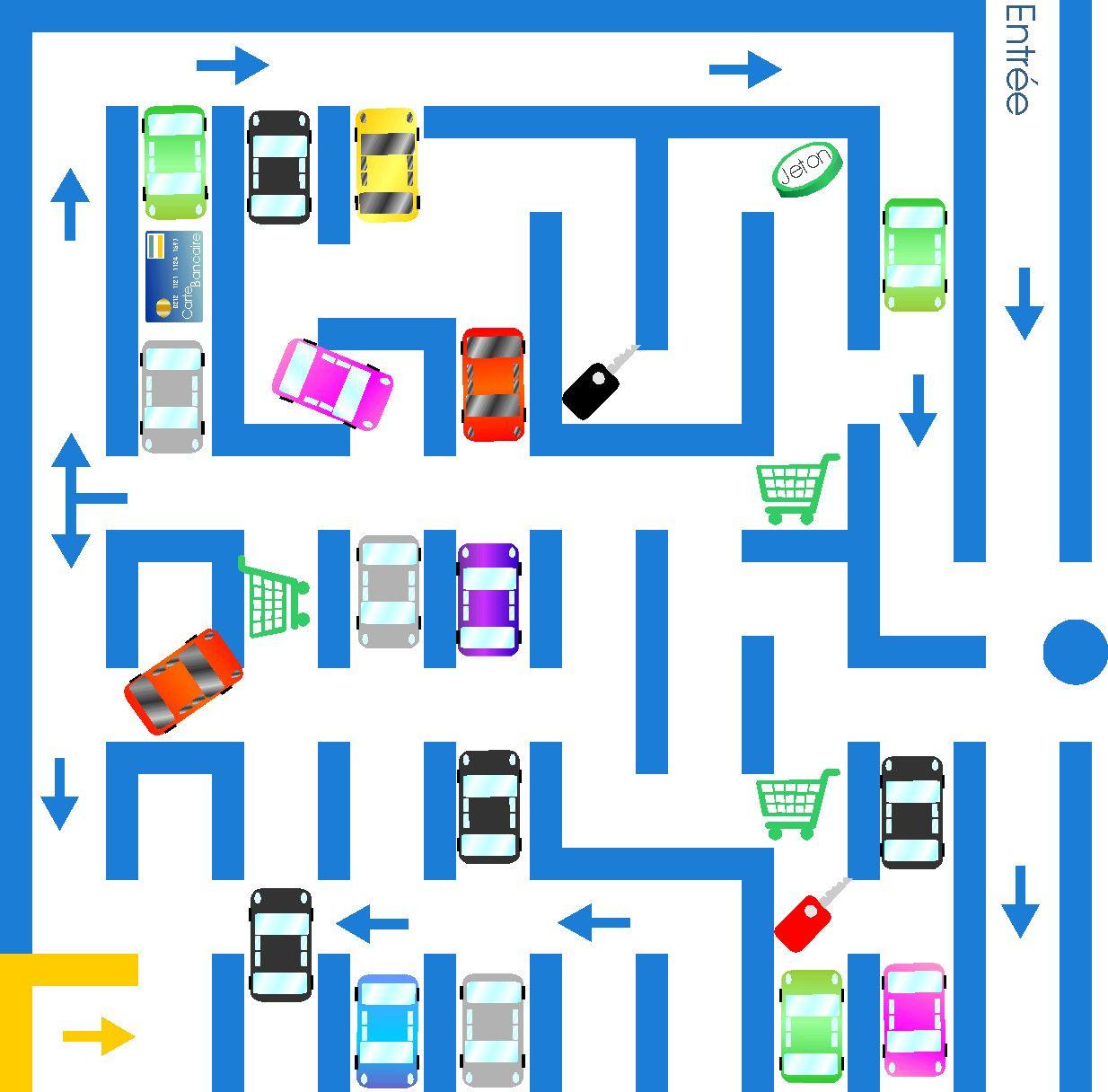 Labyrinthes Et Jeux A Imprimer Jeu De Logique Et R Flexion dedans Labyrinthes À Imprimer