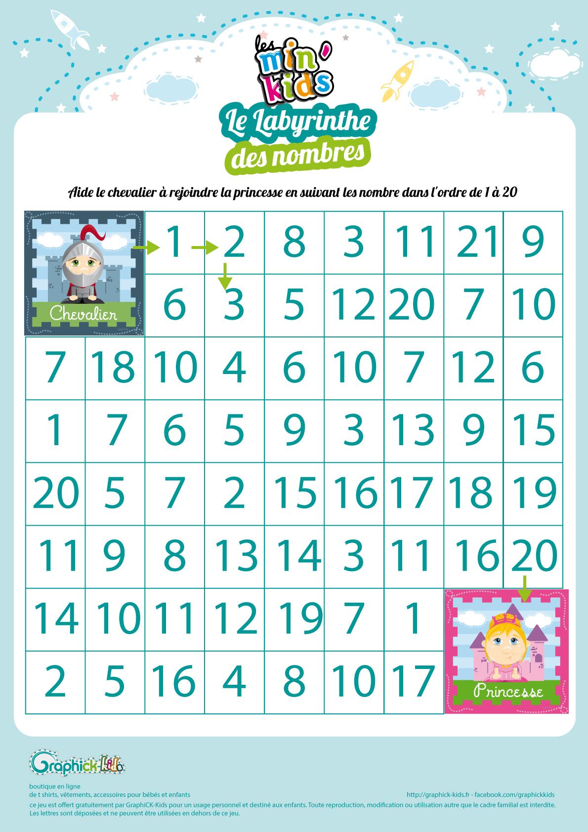 Labyrinthes Et Suite Logiques Gratuits, À Imprimer, Pour Enfants destiné Jeux De Labyrinthe Gratuit