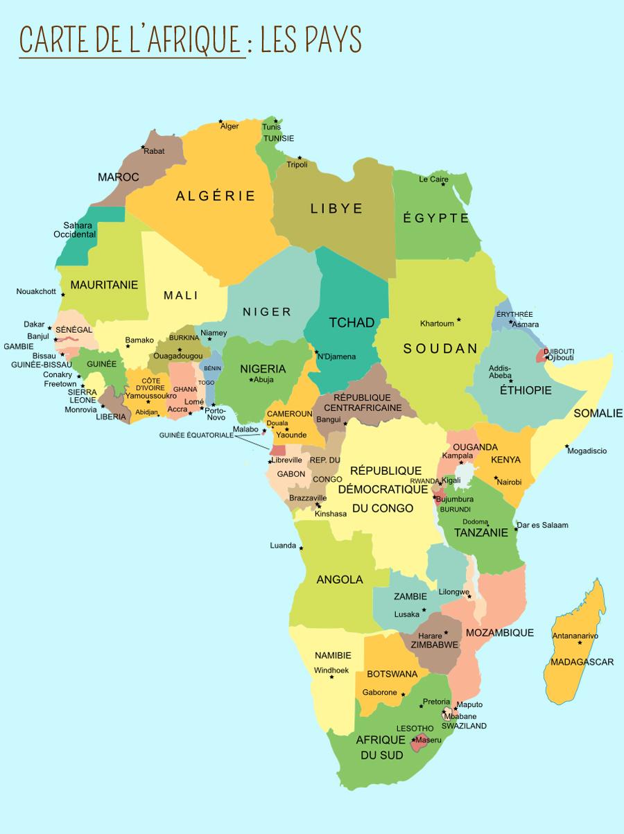L'afrique - Momes serapportantà Jeux Africains Pour Enfants