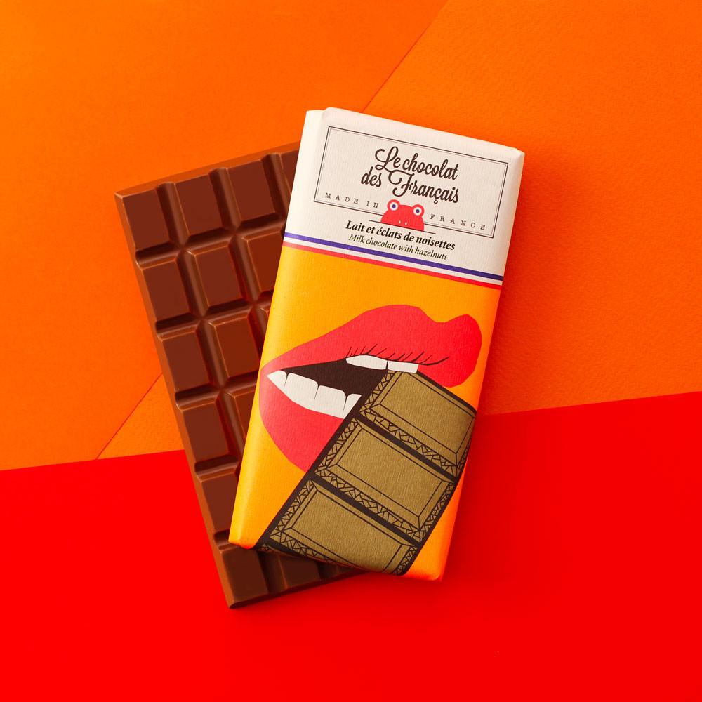 Lait & Éclats De Noisettes - Bio encequiconcerne Tablette Chocolat Dessin