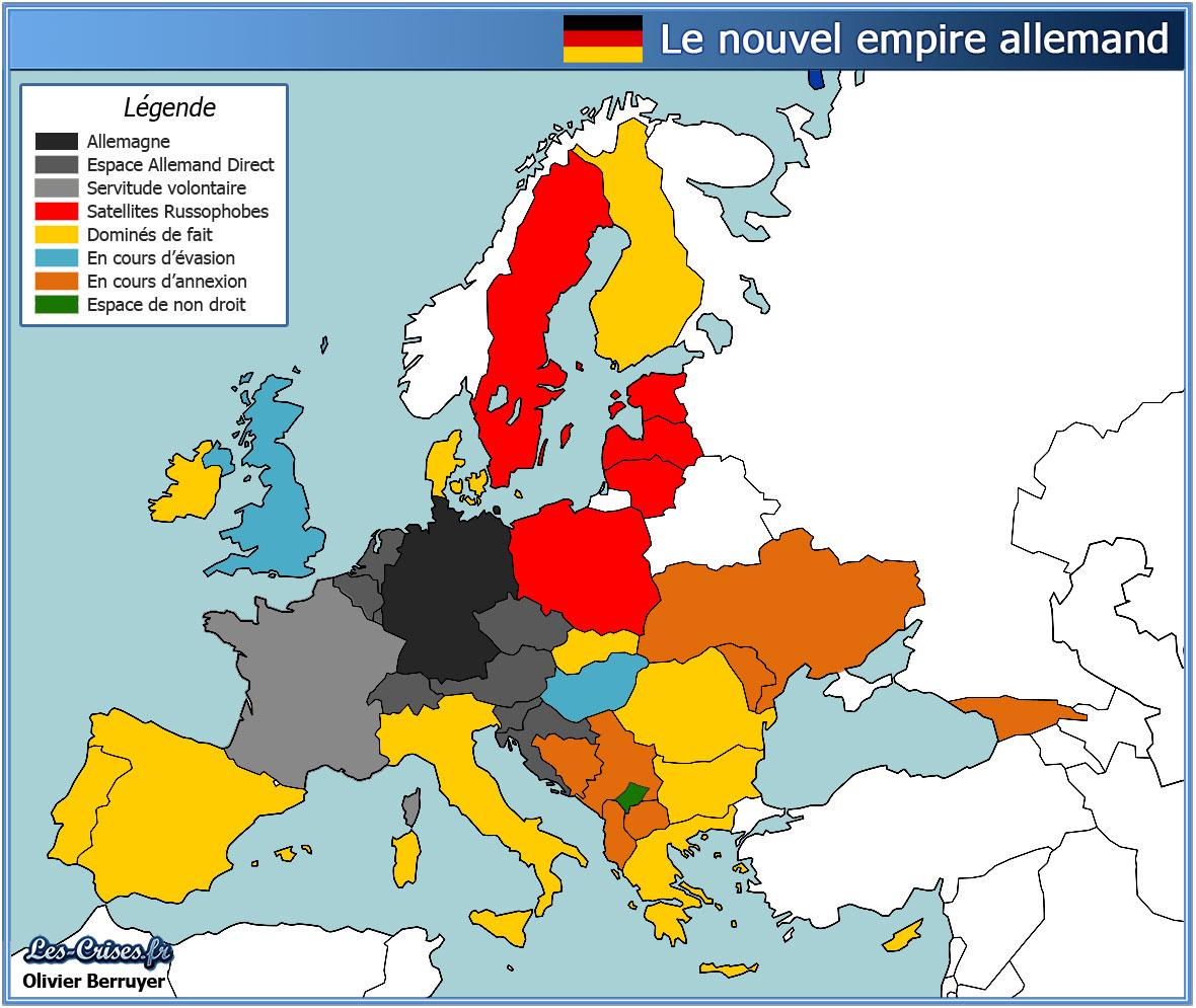 L'allemagne Tient Le Continent Européen, Par Emmanuel Todd (3) pour Carte Europe De L Est