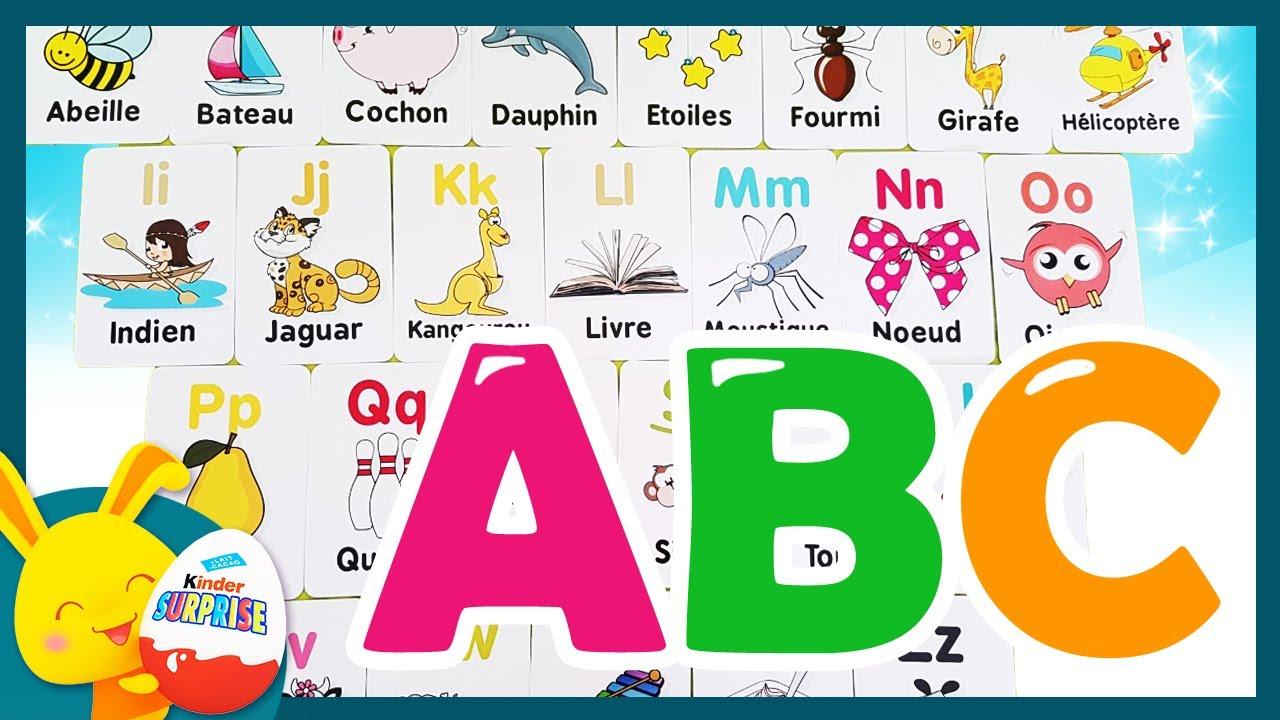 L'alphabet - Apprend L'alphabet Français. Vidéo Éducative - Abc -Touni Toys  Titounis destiné Apprendre Alphabet Francais